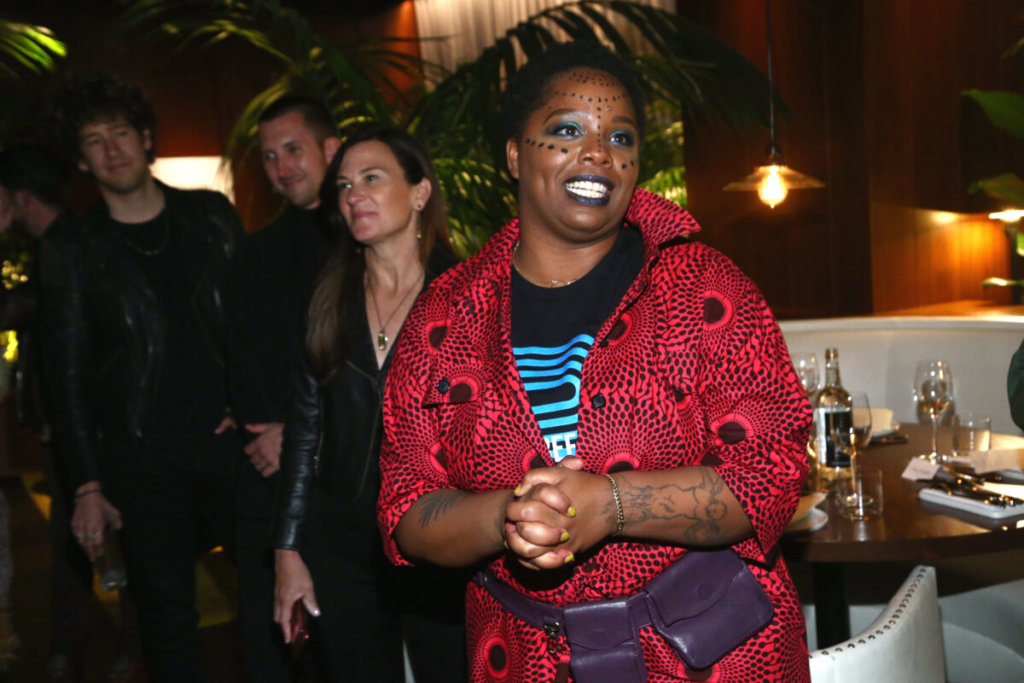 Patrisse Cullors tham dự một sự kiện ở West Hollywood, vào 13/2/2020 (Tommaso Boddi / Getty Images)
