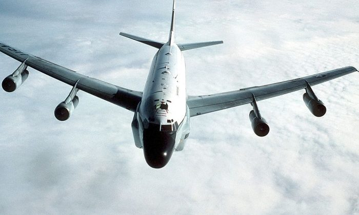 RC-135 Stratolifter. (Ảnh Patrick Nugent/ Wikimedia Commons)